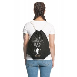Peter Pan sac en toile Tinkerbell Don't Grow Up