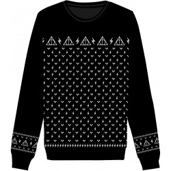 Harry Potter Sweater Christmas Deathly Hallows