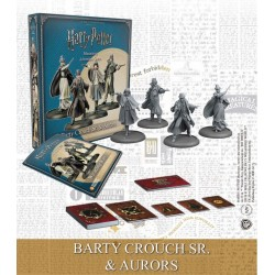 Harry Potter pack 4 figurines 35 mm Wizarding Wars Barty Crouch Sr. & Aurors *ANGLAIS*