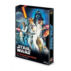 Star Wars carnet de notes Premium A5 A New Hope VHS