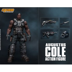 Gears of War 5 figurine 1/12 Augustus Cole 16 cm
