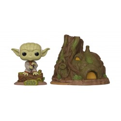 Star Wars POP! Town Vinyl figurine Yoda's Hut Empire Strikes Back 40th Anniversary 9 cm