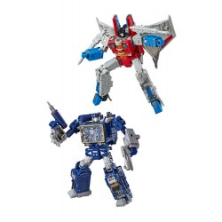 Transformers Generations War for Cybertron: Siege Voyager 2019 Wave 2 assortiment figurines (2)