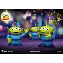 Toy Story pack 3 figurines Dynamic Action Heroes Aliens DX Ver. 12 cm