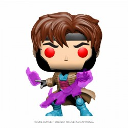 Marvel Comics Figurine POP! Marvel Vinyl Bobble Head Gambit w/ Cards 9 cm
