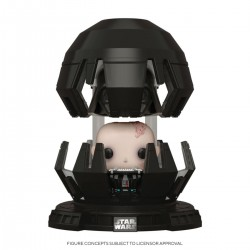 Star Wars POP! Deluxe Movies Vinyl figurine Darth Vader in Meditation Chamber 9 cm