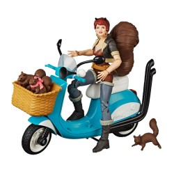 Marvel Legends Series figurine avec véhicule Squirrel Girl 15 cm