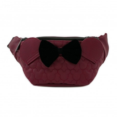 Disney by Loungefly ceinture avec sac Dark Red Mickey Mouse