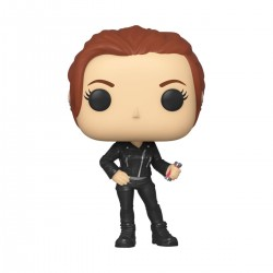 Black Widow POP! Marvel Vinyl figurine Black Widow (Street) 9 cm