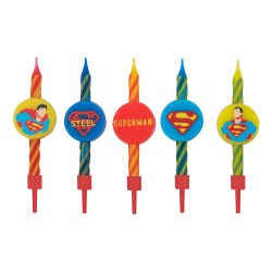DC Comics pack 10 bougies Superman