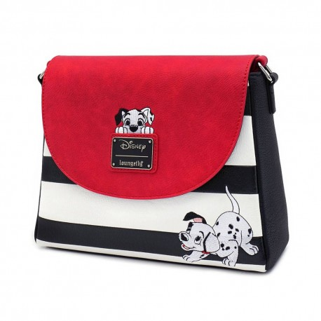 Disney by Loungefly sac à bandoulière 101 Dalmatiens Striped