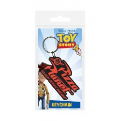 Toy Story 4 porte-clés caoutchouc Pizza Planet 6 cm