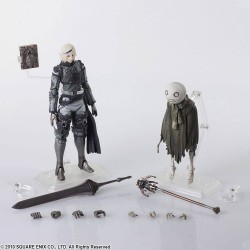 NieR RepliCant Bring Arts pack 2 figurines Nier & Emil 6-16 cm