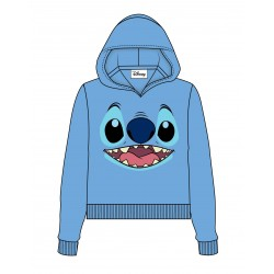 Lilo & Stitch Sweater à capuche femme Stitch Face