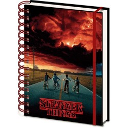 Stranger Things cahier à spirale A5 Wiro 3D Mind Flayer