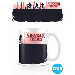 Stranger Things mug effet thermique Upside Down