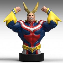 My Hero Academia buste / tirelire All Might 25 cm