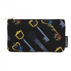 Disney by Loungefly sac cosmétique Kingdom Hearts Keys AOP