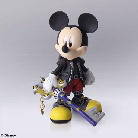Kingdom Hearts III Bring Arts figurine King Mickey 9 cm