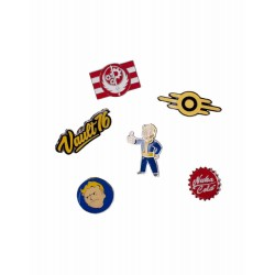 Fallout 76 pack 6 pin's