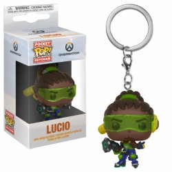 Overwatch porte-clés Pocket POP! Vinyl Lucio 4 cm
