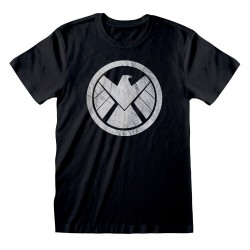 Avengers T-Shirt Shiled Logo Distressed