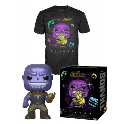 Avengers Infinity War POP! & Tee set figurine et T-Shirt Thanos
