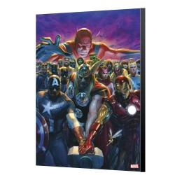 Marvel Avengers Collection tableau en bois Avengers 10 - Alex Ross 24 x 36 cm