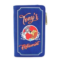 Disney by Loungefly Porte-monnaie La Belle et le Clochard Tony's Menu