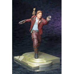 Les Gardiens de la Galaxie statuette PVC ARTFX 1/6 Star Lord with Groot 32 cm