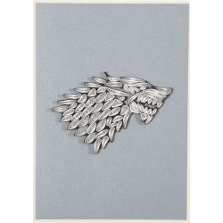 Game of Thrones carte Quilled House Stark