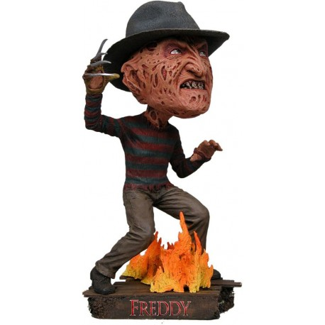 Nightmare on Elm Street Head Knocker Freddy Krueger 18 cm