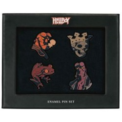 Hellboy pack 4 pin's