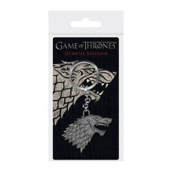 Game of Thrones porte-clés 3D Stark Sigil 6 cm