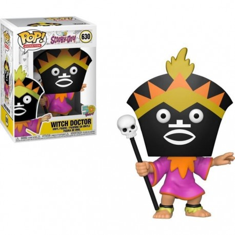 Scooby Doo Figurine POP! Animation Vinyl Witch Doctor 9 cm
