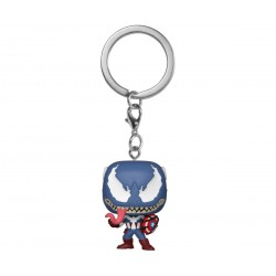 Marvel Venom porte-clés Pocket POP! Vinyl Captain America 4 cm