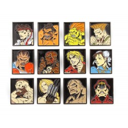 Street Fighter pack 12 pin's Characters