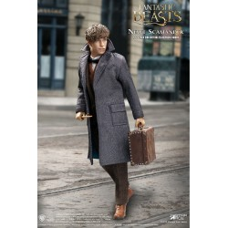 Les Animaux fantastiques My Favourite Movie figurine 1/6 Newt Scamander Grey Coat Ver. 30 cm