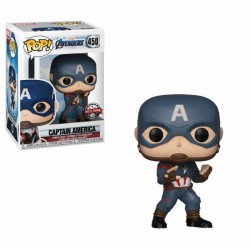 Avengers Endgame POP! Movies Vinyl figurine Bobble Head Captain America Special Edition 9 cm