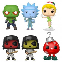 Funko Web Bundle Exclusive 6 POP! Vinyl figurines heo EU Exclusive 9 cm