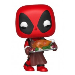 Marvel Holiday Figurine POP! Marvel Vinyl Deadpool 9 cm