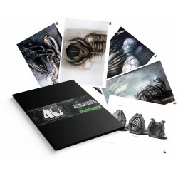 Alien set 5 lithographies 35 x 28 cm