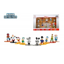 Disney pack 10 figurines Diecast Nano Metalfigs Wave 2 4 cm