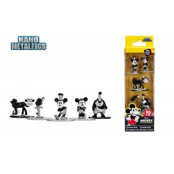 Disney pack 5 figurines Diecast Nano Metalfigs Mickey's 90th 4 cm