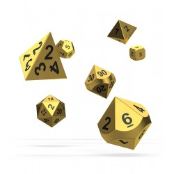 Oakie Doakie Dice dés RPG-Set Metal Dice - Aurym (7)