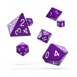 Oakie Doakie Dice dés RPG-Set Solid - Violet (7)