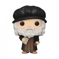 Leonardo da Vinci POP! Artists Vinyl figurine 9 cm