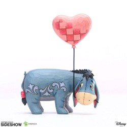 Disney statuette Eeyore with a Heart Balloon (Winnie l'ourson) 20 cm