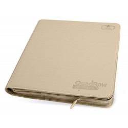 Ultimate Guard 12-Pocket QuadRow ZipFolio XenoSkin Sable
