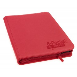 Ultimate Guard 8-Pocket ZipFolio XenoSkin Rouge
